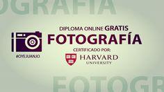 Diploma gratis de Fotografía dictado por la Universidad de Harvard