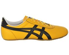 Onitsuka Tiger Tai-Chi Yellow/Black Leather Onitsuka Tiger Tai-Chi Yellow/Black Leather Trainers Colourway