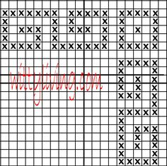 Free Cross Stitch Patterns: Geometric S Border corner