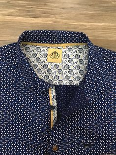 Men shirt detail casual citrus