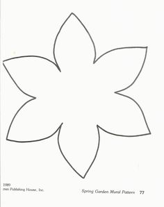 preschool flower template image search results