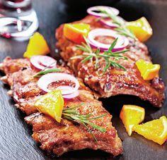 Coaste de porc marinate   Retete culinare - Romanesti si din Bucataria internationala