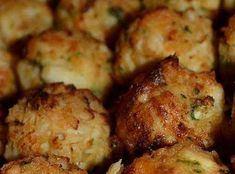 Crab Balls…making these for superbowl…. Crab Balls…making these for superbowl…. Appetizers For A Crowd, Seafood Appetizers, Seafood Dishes, Appetizer Recipes, Crab Appetizer, Crab Dishes, Crab Bombs Recipe, Seafood Party, Best Crabs