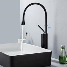Antique Basin Tap Black Bronze Brass Bathroom Mixer Sink Tap High Verison - : Cheap Taps Sale Online Store- Offering All Kinds of Taps Basin Taps, Bathroom Sink Taps, Brass Bathroom, Waterfall Taps, Brass Tap, Bronze, Night Lamps, Stores