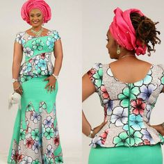 is an African fashion and lifestyle website that showcase trendy styles and designs, beauty, health, hairstyles, asoebi and latest ankara styles. Ankara Skirt And Blouse, Ankara Dress Styles, African Wear Dresses, African Fashion Ankara, Latest African Fashion Dresses, African Print Fashion, Africa Fashion, African Attire, African Outfits