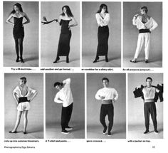 Units Clothing - from the 80's.  Came in pieces that you could mix and match.  Surprised this has not resurfaced....I think I would wear it!
