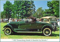 1927 Duesenberg Model A Roadster