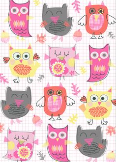 Autumn Owls - these are so cute to embellish pages with!