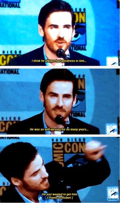 Colin O'Donoghue - #SDCC 2014 | Colin O'Donoghue as Captain Hook | Once Upon A Time
