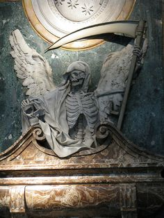 The Grim Reaper | nick fisher-- the tomb of Cardinal Aldobrandini in the basillica of San Pietro Vincoli,Romr