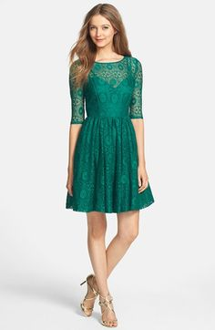 Plenty by Tracy Reese 'Estella' Lace Fit & Flare Dress   Nordstrom