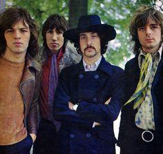 Pink Floyd in 1968 David Gilmour, Art Pink Floyd, Musica Punk, Richard Wright, Roger Waters, Progressive Rock, Blues Rock, Popular Music, Classic Rock