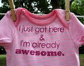 My daughter will need one of these ASAP when I have one; considering I am always saying how awesome I am :)