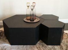 33 Hexagonal Coffee Table Ideas