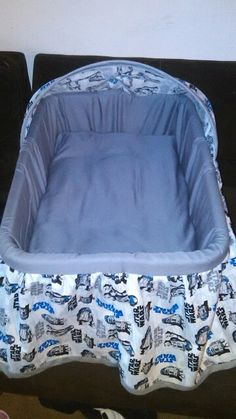 Star Wars laundry basket bassinet...maybe not star wars but this would come in handy with two stories