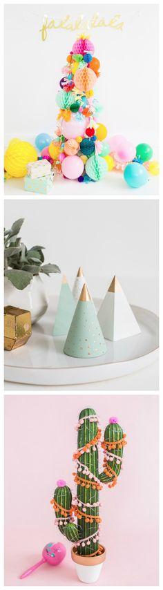 Fun alternative Christmas trees!