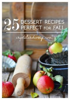 25 dessert recipes perfect for fall