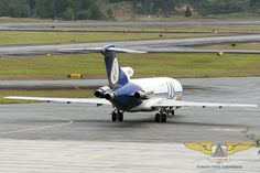 Boeing 727 freighter of Lineas Aereas Suramericanas at the cargo ramp of Rionegro (SKRG/MDE)