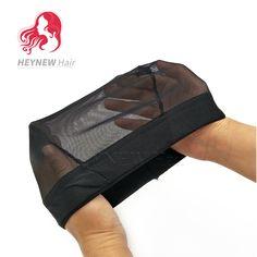 3PCS/Lot Dome Style Mesh Wig Cap For Making Wigs Black Color Fashion Stretchable Weaving Cap  Elastic Nylon Mesh Net Wholesale #Affiliate