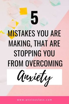 Are You Making These 5 Mistakes In Your Mental Health Recovery? : Is your anxiety still bad, no matter what you have tried. Could you be making these mistakes in your mental health recovery? Anxiety Tips, Anxiety Help, Social Anxiety, Stress And Anxiety, Health Anxiety, Mental Health Recovery, Mental Health Awareness, Anxiety Relief, Stress Relief