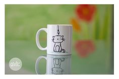 Las tazas de Silvia, pintadas a mano #mug #taza #personalizada #regalo #original