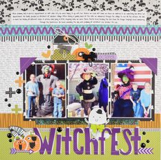 Bella Blvd Spooktacular   Witchfest Layout by Becki Adams