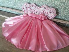 Baby Girl Dress Design, Girls Frock Design, Kids Frocks Design, Baby Frocks Designs, Cute Baby Dresses, Baby Girl Party Dresses, Dresses Kids Girl, Kids Outfits, Kids Dress Wear