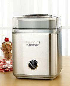 Ice Cream Maker...surely what I need!
