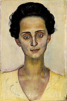 Portrait de Berthe Hodler-Jacques (1898) Huile sur toile 40 x 27 cm Collection particulière © Institut Suisse pour l'étude de l'art, Zurich