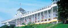 """Somewhere In Time Weekend at the Grand Hotel on Mackinac Island, MI; one of my favorite movies, """"Somewhere in Time"""" was filmed here."""