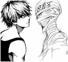 Ken kaneki & Nagai Kei