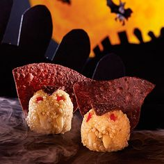 Vampire+Cheese+Balls+-+The+Pampered+Chef®. #pamperedchef #halloweentreats. Check out my Facebook group. https://www.facebook.com/groups/925045150903787/