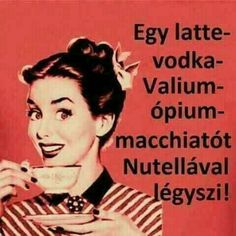 Monday humor : I'll have a cafe mocha, Valium, vodka, latte to go please. It helps to be prepared for all situations! Me Quotes, Funny Quotes, Funny Monday Quotes, Motivational Monday, Funny Memes, Monday Memes, Retro Humor, Retro Funny, Work Humor