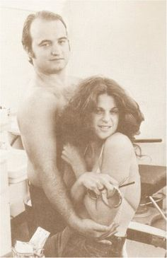 John Belushi & Gilda Radner - from Saturday Night Live - Two cohorts gone too soon, for very different reasons.