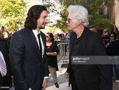 Adam Driver and Writer/director Jim Jarmusch attend the premiere of Amazon…