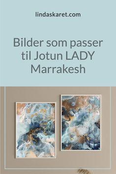 """Trenger du litt inspirasjon til kunst som passer perfekt sammen med fargen """"Marrakesh"""" fra Jotun LADY? Da har du kommet til rett sted. Jotun Lady, Different Media, Marrakesh, Color Themes, Abstract Art, Painting, Inspiration, Beautiful, Biblical Inspiration"""