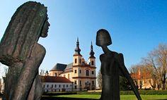 Vrtba Garden Prague, Czech Republic | Statues in monastery gardens, Litomysl, Czech Republic