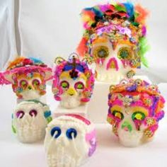 Sugar Skull Cake Pops For Cinco De Mayo!!