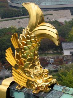 Shachihoko 鯱鉾 - Osaka Castle