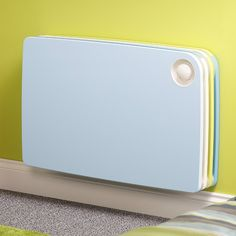 Low Surface Temperature Radiators. LST Designer Radiators. Jaga LST Radiators. Stylish Designer Safe Heating radiators. Child Safe Blue Radiator.