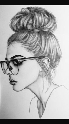 Pretty 💕 💕 credits to the artist ❤ ❤ art sketches em 2019 portrait dessin Girl Drawing Sketches, Girly Drawings, Cool Art Drawings, Pencil Art Drawings, Realistic Drawings, Beautiful Drawings, Drawing Ideas, Drawing Drawing, Pretty Drawings