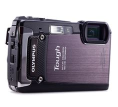 Olympus Tough TG-820--$299.99    Pros: Sharp lens. Very rugged design. Excellent rear LCD. 5x zoom range. Speedy performance.    Cons:  No GPS. So-so video quality. Must charge battery in camera.