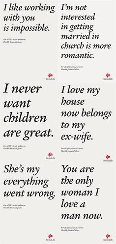 Swiss Life insurance copywriting from the peanut gallery: Life's twists and turns