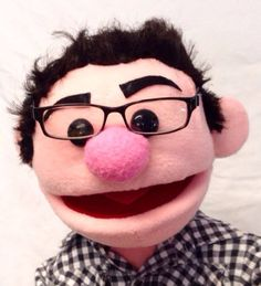 Custom Professional Rod Hand Puppet Portrait by Passion4Puppets, $250.00