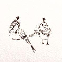 Michelle Elski - Birds in beanies