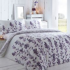 RJR.John Rocha Purple leaf print bedding set- | Debenhams
