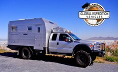 GXV (Global Expedition Vehicles)-Truck Great Salt Lake UT Turtle   Car and Driver
