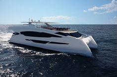 Catamaran motor-yacht / diving / wheelhouse / semi-custom 83 PASSENGER Flash Catamarans
