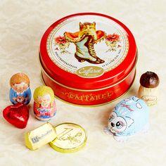 カファレル チョコラティーノ缶(ネコ)