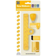 We R Memory Keepers Shoelace Sew Ribbon Tool ~ $9.79 at amazon.com